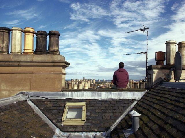Edinburgh rooftop